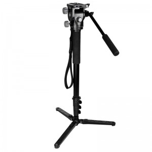 KINGJOY Camera Monopod Alpenstock, Aluminium Flip Lock Video Monopod за камера с 1\/4 \